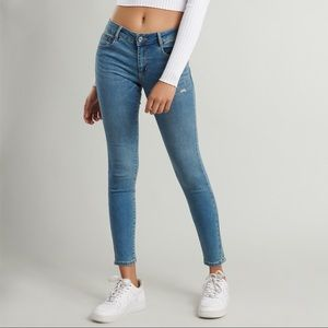 Garage Mid-Rise Jeggings 5th Ave Blue